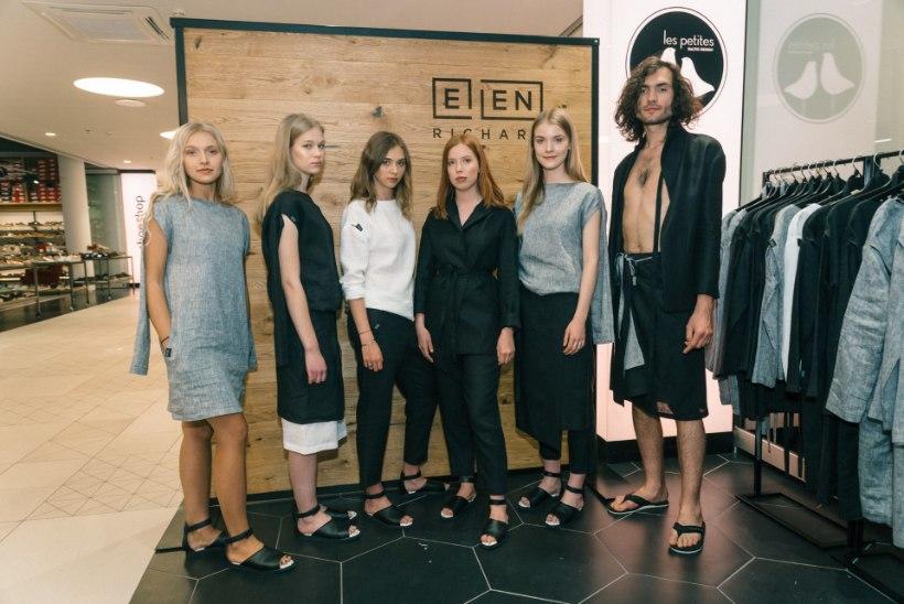 GALERII | Modell Kätlin Hallik särab uue šiki naisterõivaste brändi reklaamnäona
