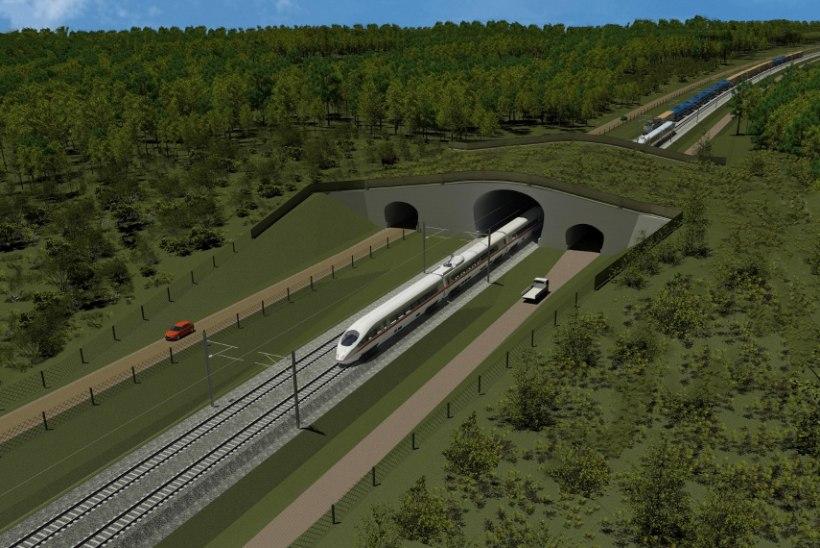 Riigikogu arutas riigikontrolli Rail Balticu aruannet