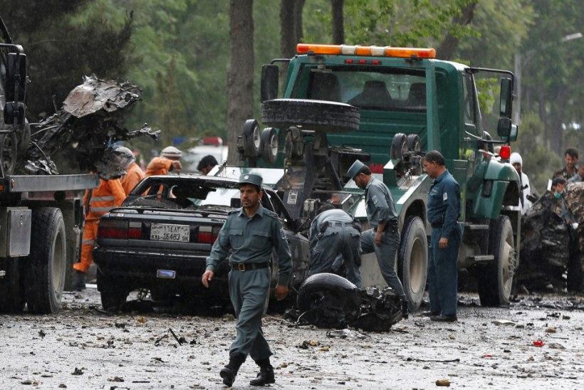 Islamiriik ründas Kabulis NATO konvoid