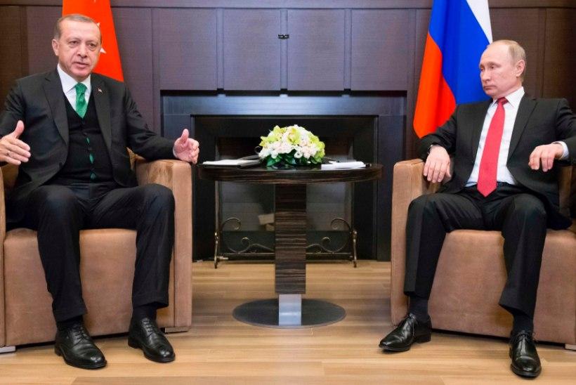 Erdogan ja Putin Sotšis: kellel on kohtumisest rohkem kasu?