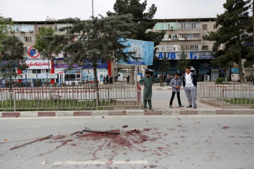 Plahvatus Kabulis: 8 hukkunut ja kümned vigastatud