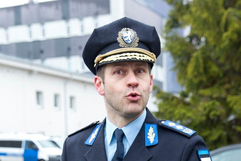 """Politseijuht Elmar Vaher: """"Mul on kaks noaauku seljas."""""""