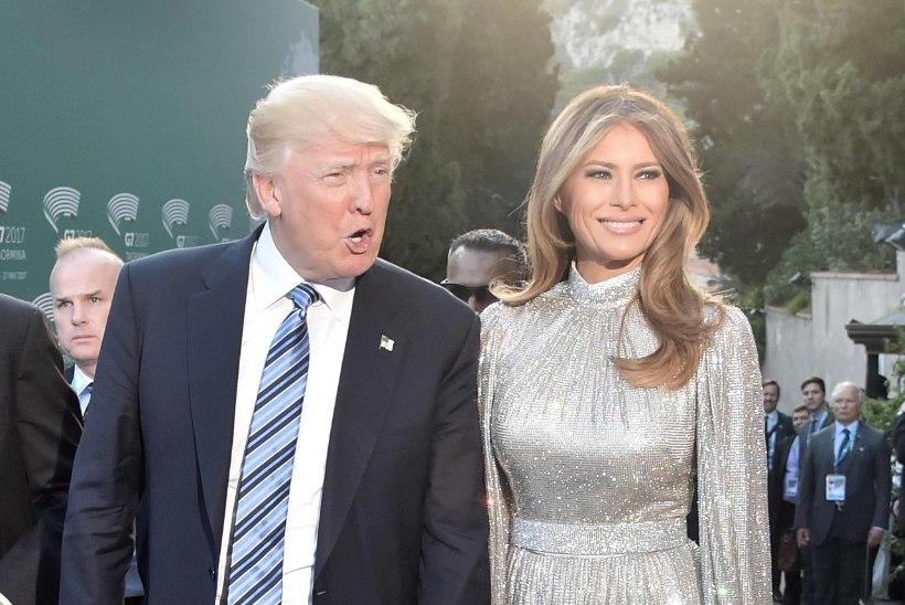 Proua Trump maksis kätte disaineritele, kes teda riietamast keeldusid