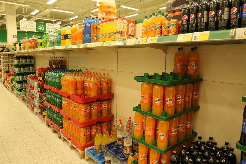 Karastusjookide tootjad: suhkrumaksu tõttu kaob pool tuhat töökohta
