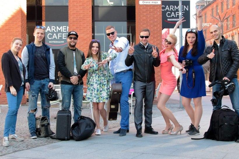 """Alen Veziko laul """"Päikesepoolsel tänaval"""" sai uue video: ukulelemängijal olid kintsud külmast sinised"""