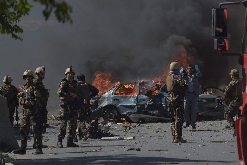 Kabulis plahvatas hiidpomm