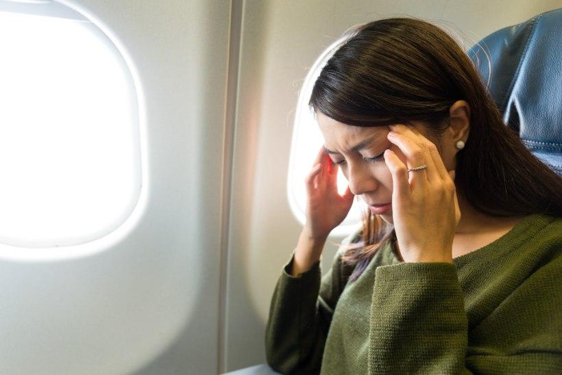 VIDEO   Purjakil lennureisija kujutab ette, et on kaklusklubis