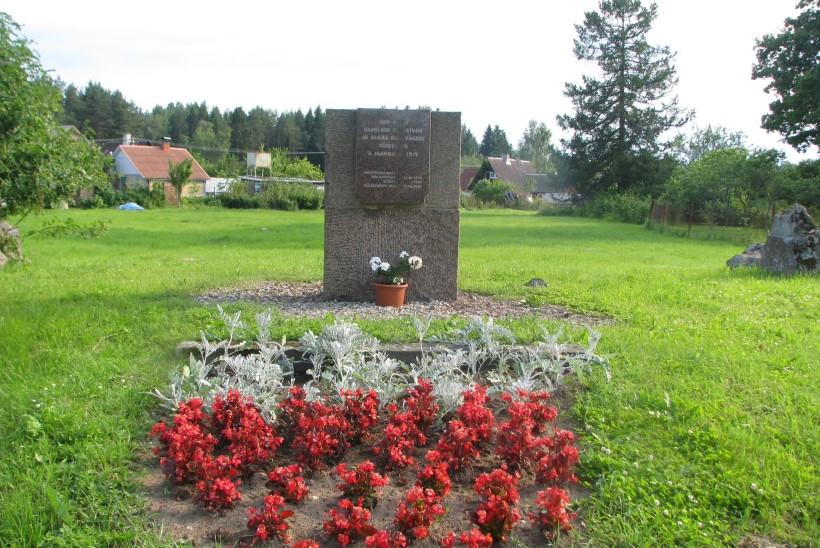Rahva toetusel tahetakse taastada vabadussõja murdelahingu mälestussammas