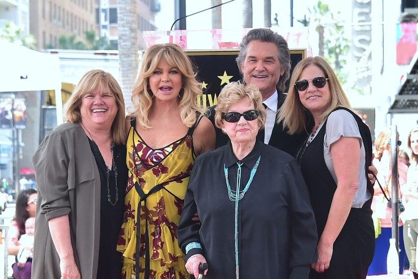Goldie Hawn ja Kurt Russell said viimaks omanimelised tähed