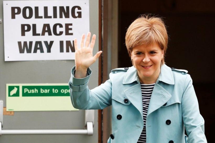 Briti konservatiividel on kohalike valimiste järel korralik edumaa