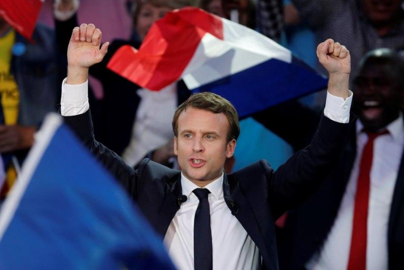 Emmanuel Macron jäi päev enne valimisi küberrünnaku alla
