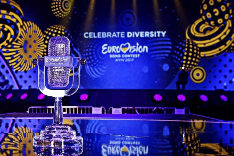 FOTOD | Eurovisioni võidukarikas jõudis võistluspaika