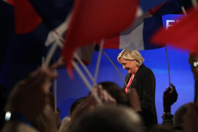 """Le Pen soovis Macronile edu """"tohutute väljakutsetega toimetulemisel"""""""