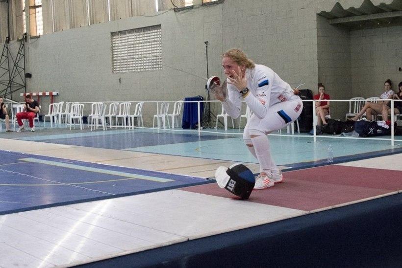 Kristina Kuusk – kaheksas Eesti lipu all MK-etapi võitnud vehkleja!