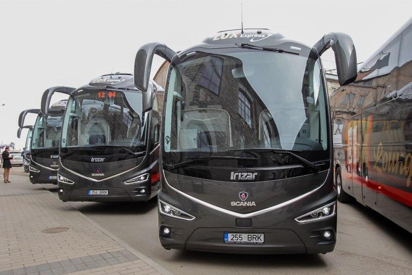 Lux Ekspress suurendab Tallinna ja Tartu vahelist liikumist
