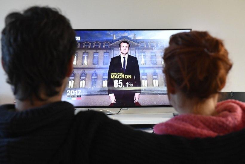 Prantsusmaa presidendiks valiti Macron