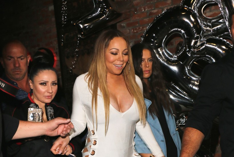 Kas Mariah Carey hiigeldekoltee on ikka lapse sünnipäevale paslik?