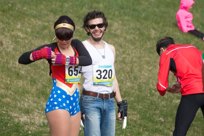 Jooksid kord president, kukk ja Superman võidu