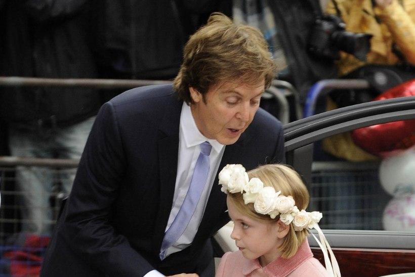 Paul McCartney 13aastane tütar matkib isa noorpõlvesoengut