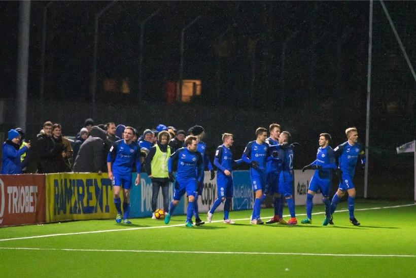 Tartu Tammeka alistas penaltiseerias Paide ja pääses esimesena karikafinaali