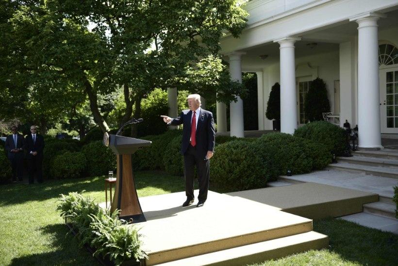 President Trump kinnitas, et USA taandub Pariisi kliimaleppest