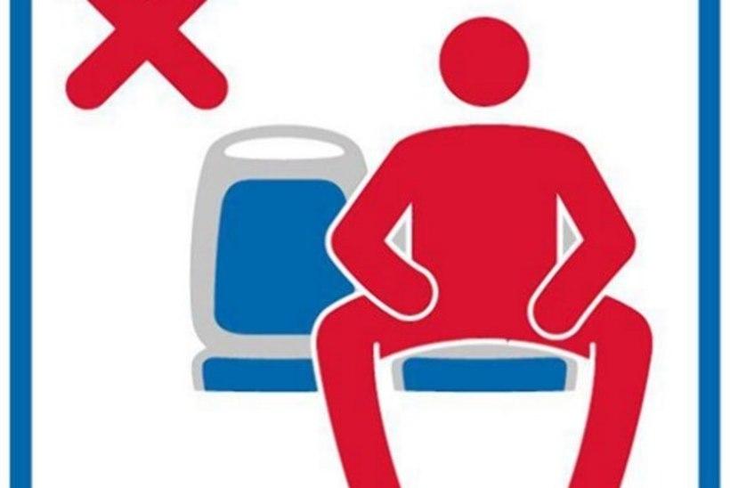 Madridis keelatakse meestel ühistranspordis põlvedega laiutamine