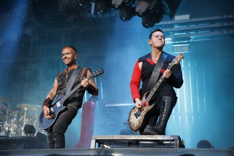 Rammsteini kitarrist Paul Landers: igaüks võib meie kontsertidel teha, mida tahab, meie mängime nagunii!