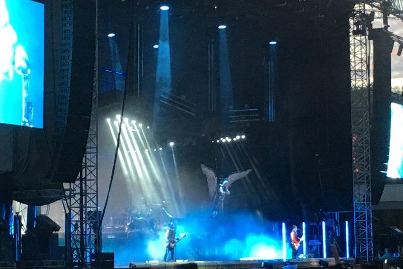 ÕHTULEHE VIDEO | Vaata, kuidas rahvas Rammsteini kontserdilt minema voolas