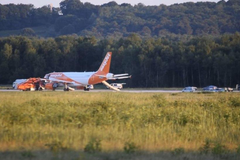 Juhuslik viide pommile tekitas reisilennukis tõelise paanika