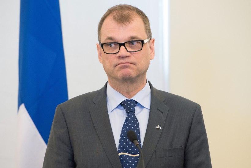 Soome peaminister Sipilä tegi oma otsuses kannapöörde: valitsus ei astu tagasi