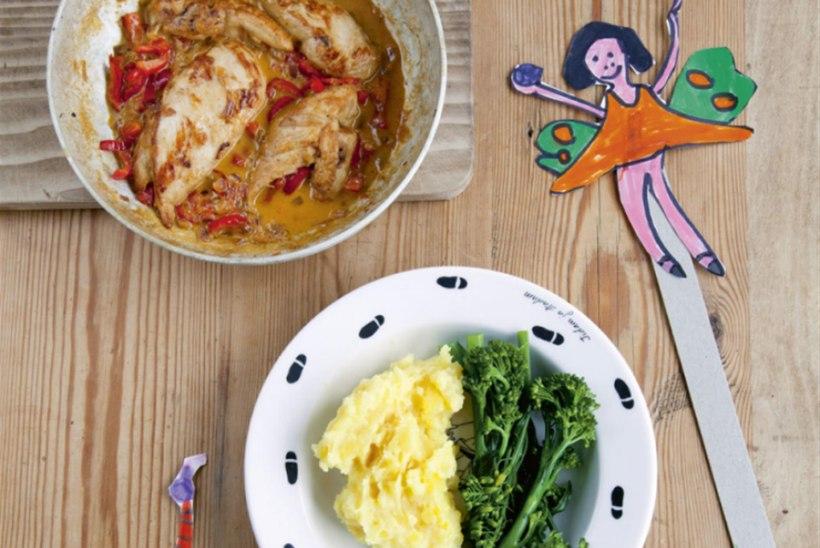 Kana sinepises koorekastmes