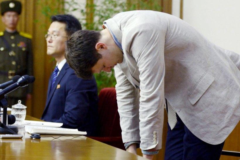 PÄÄSEMINE SUNNITÖÖST: Põhja-Korea vabastas ameeriklasest tudengi