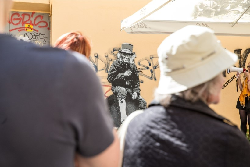 FOTOD JA VIDEO | Kunst ei ole ainult muuseumis: kes on salapärane tänavakunstnik Edward von Lõngus