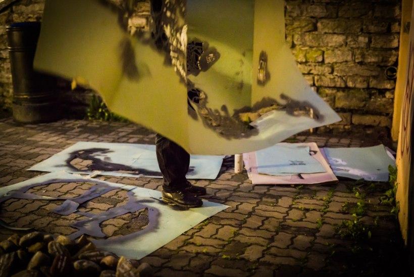 FOTOD | Vandaalid? Öises Tallinnas toimus midagi väga veidrat