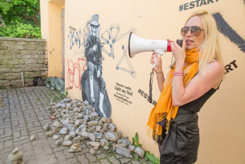 Mõistatuslik tänavakunstnik Edward von Lõngus alustab Euroopa tuuri