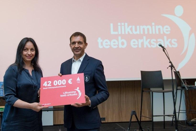 EOK ja Coca-Cola Fond rajavad üle Eesti võimlemis- ja jõulinnakud