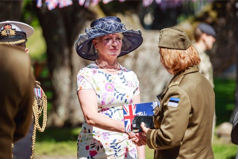 GALERII | Briti suursaadiku Theresa Bubbear'i vastuvõtt Tema Majesteet Kuninganna Elizabeth II sünnipäeva puhul