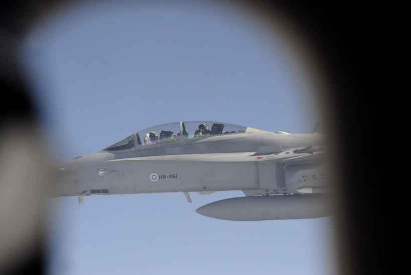 Soome õhuvägi: Vene sõjalennukid on Läänemerel aktiviseerunud