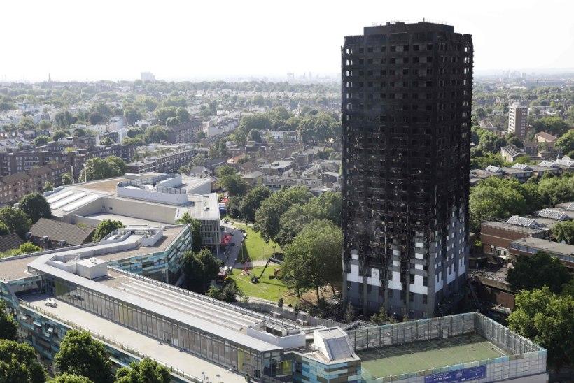 Kardetakse, et Londoni korrusmaja põlengus võis hukkuda sadu inimesi