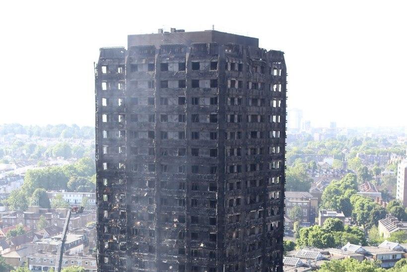 LONDONI SUURPÕLENG: inimestele meenus 11. september 2001