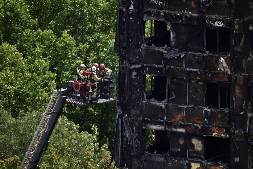 """""""Kui ma kohe ei põgene, siis surengi siia maha!"""" Mees, kes pääses Londoni tornmaja põlevast põrgust"""