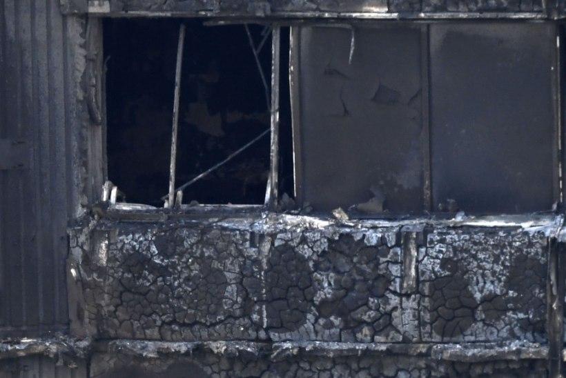 Londoni põlengu ohvrite ametlik arv tõusis kolmekümneni