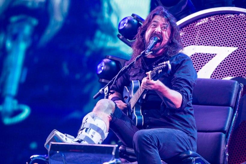 Foo Fighters meelitab üle piiri tuhandeid eestlasi