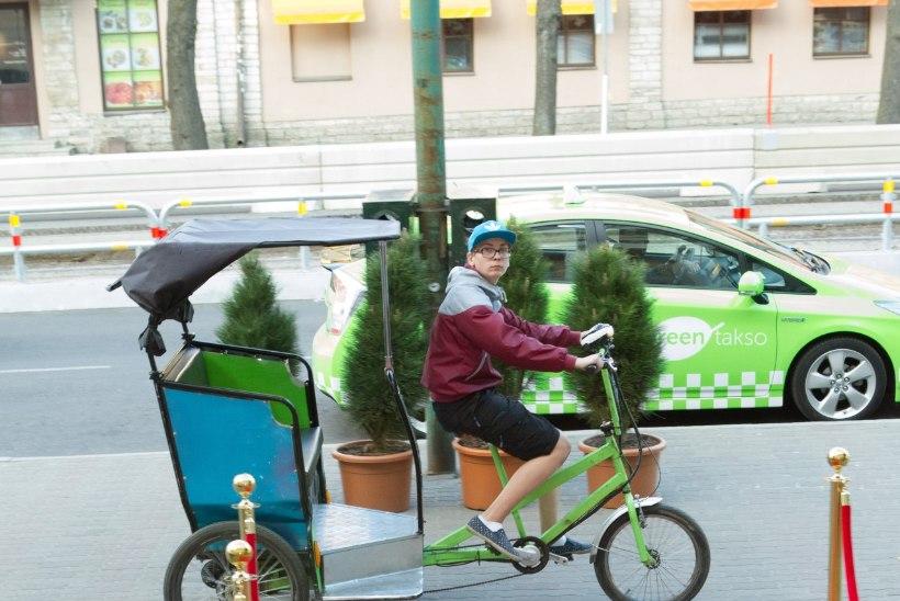 Tallinna velotakso anarhia tüürib rahvusvahelise skandaali poole