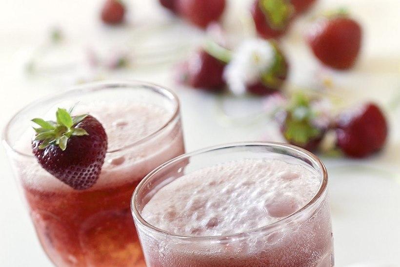 Maasikahooaja avastart: alkoholivaba maasika-Margarita