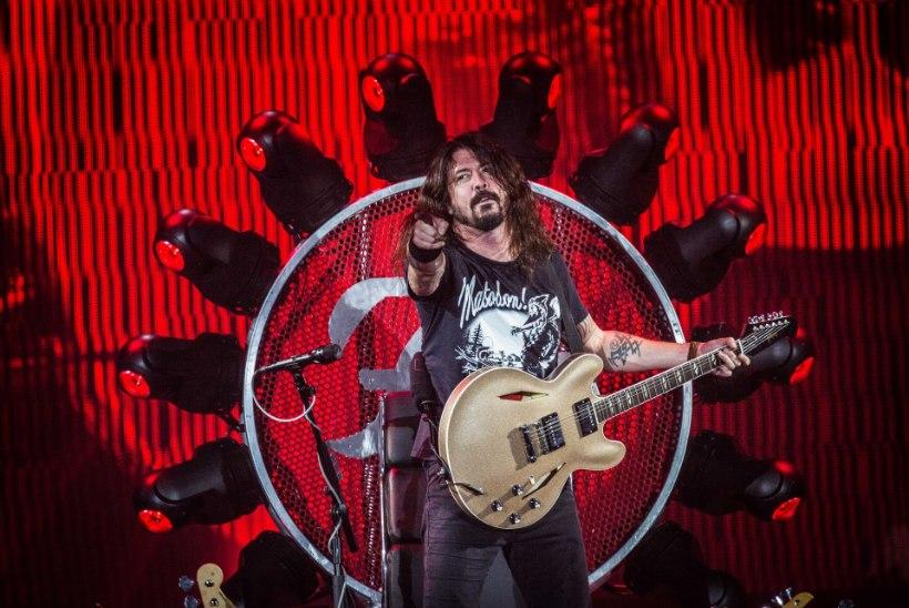 Foo Fighters meelitab tuhandeid eestlasi üle piiri