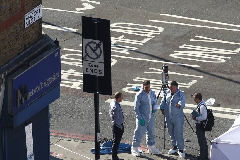"""Londonis jalakäijate sekka sõitnud kaubikujuht: """"Ma tapan kõik moslemid!"""""""