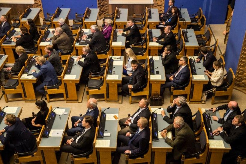 Riigikogus toimus Rail Balticu aruande teine lugemine ja lõpphääletus