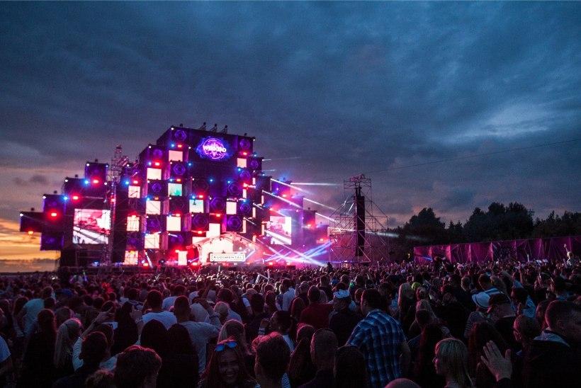 Weekend festival toob lavale artiste 2,1 miljoni euro eest!