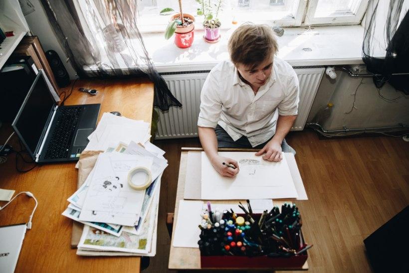 Karikaturisti pildiloomaaias kohtab lõdismadu ning jõetobu